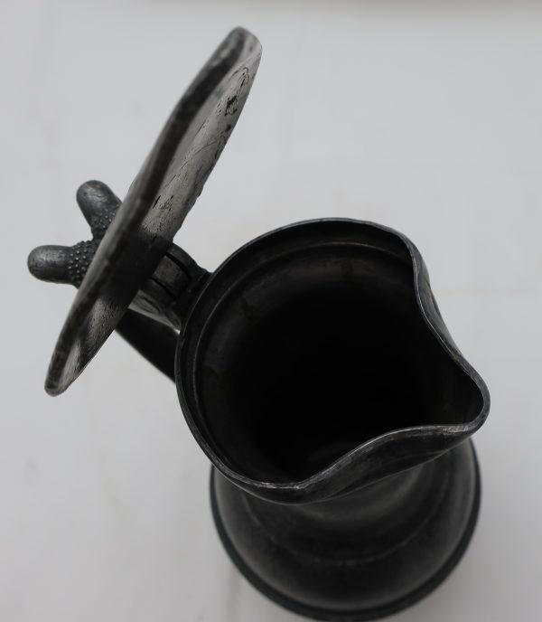 Early 18th Century Pewter Flagon-Makers Mark