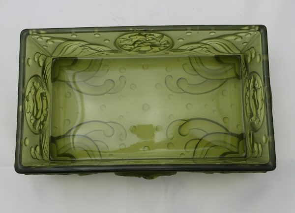 """Imperial Glass Virginia Evans """"Shen"""" Console Bowl"""