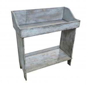 Mid 1800's Sorting Bench Table with Dovetailed Construction