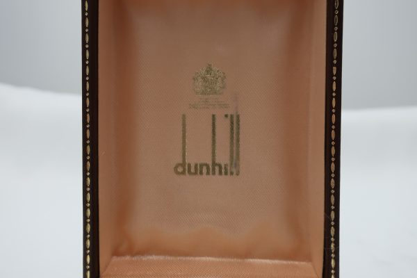 Dunhill Blue Lacquer Lighter in Box with Paperwork