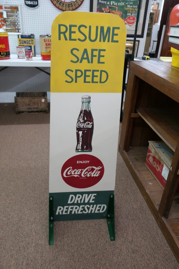 Coca Cola School Zone Sign