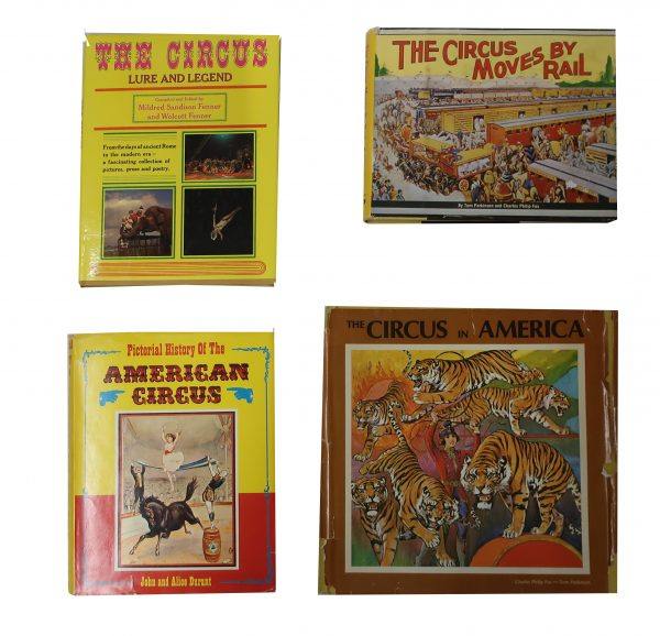 Group of Vintage Collectible Circus Books and Booklets
