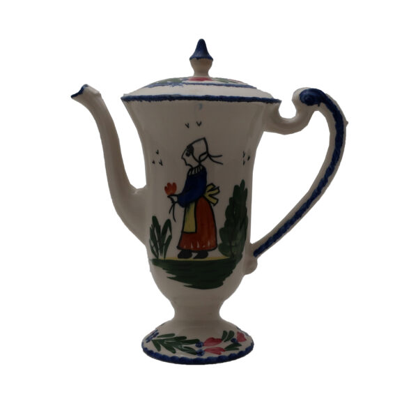 Blue Ridge French Peasant Chocolate Pot with Lid