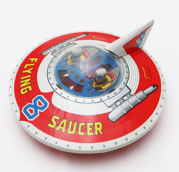 Haji Japan Toy Flying Saucer #8