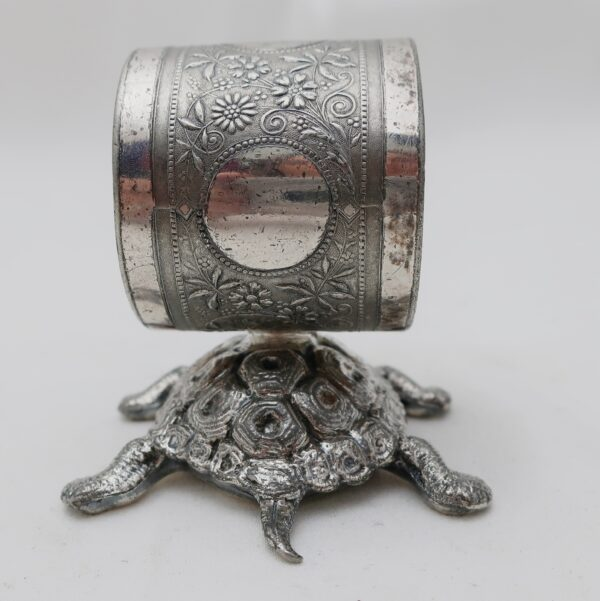 Rogers Silver Plate Turtle Napkin Ring