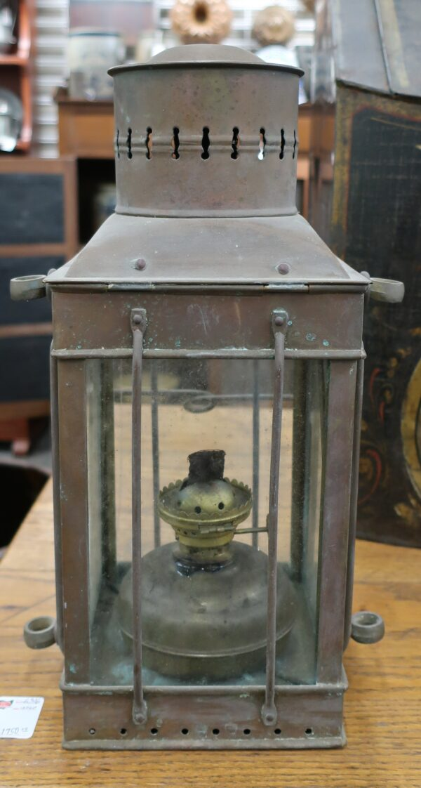 Cooper Cargo Lamp with Burner from Maine