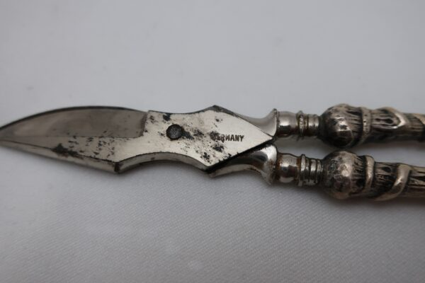 Sterling Solid Handle Grape Shears