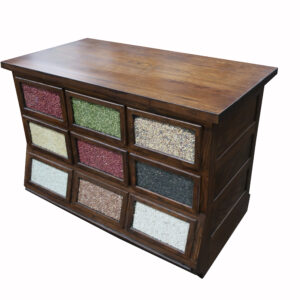 Partial Sherer Seed Cabinet