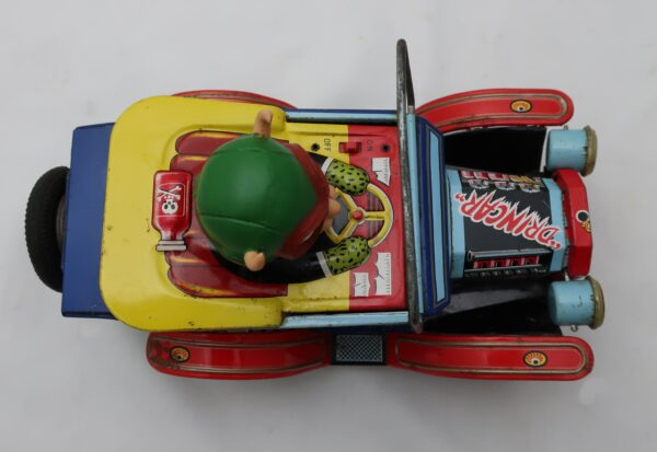 Marx Nutty Mad Car Battery Toy