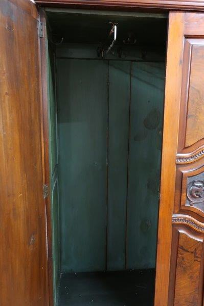 Antique Knock Down His/Her Wardrobe