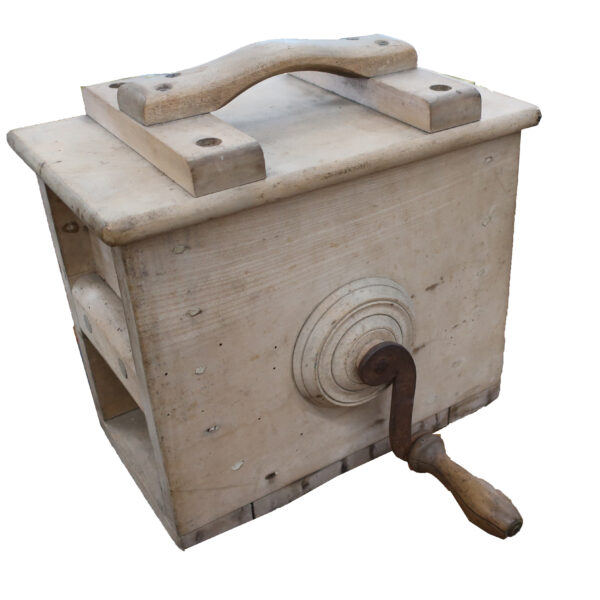 Early Wooden Counter Top Churn