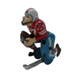Linemar Touchdown Pete Tin Litho Wind Up Toy