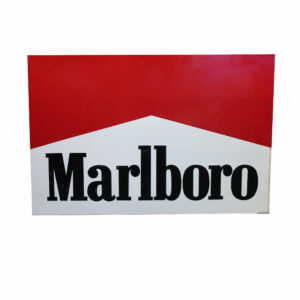 Marlboro Double Sided Metal Sign