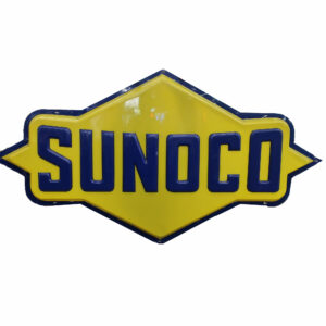 """1960's Sunoco Cookie Cutter Hard Plastic Light Cover-82"""""""